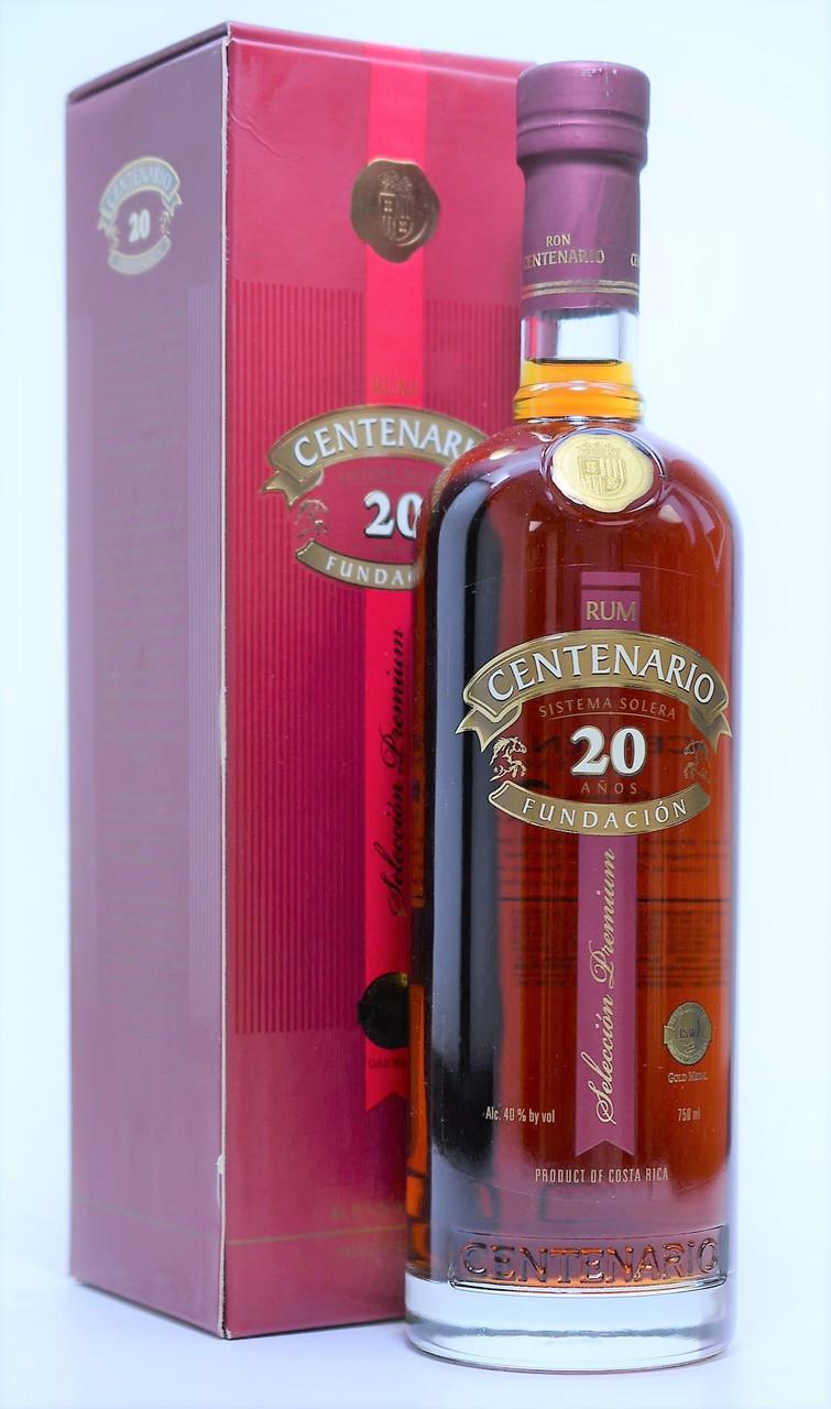 Centenario 20 Fundacion Rum
