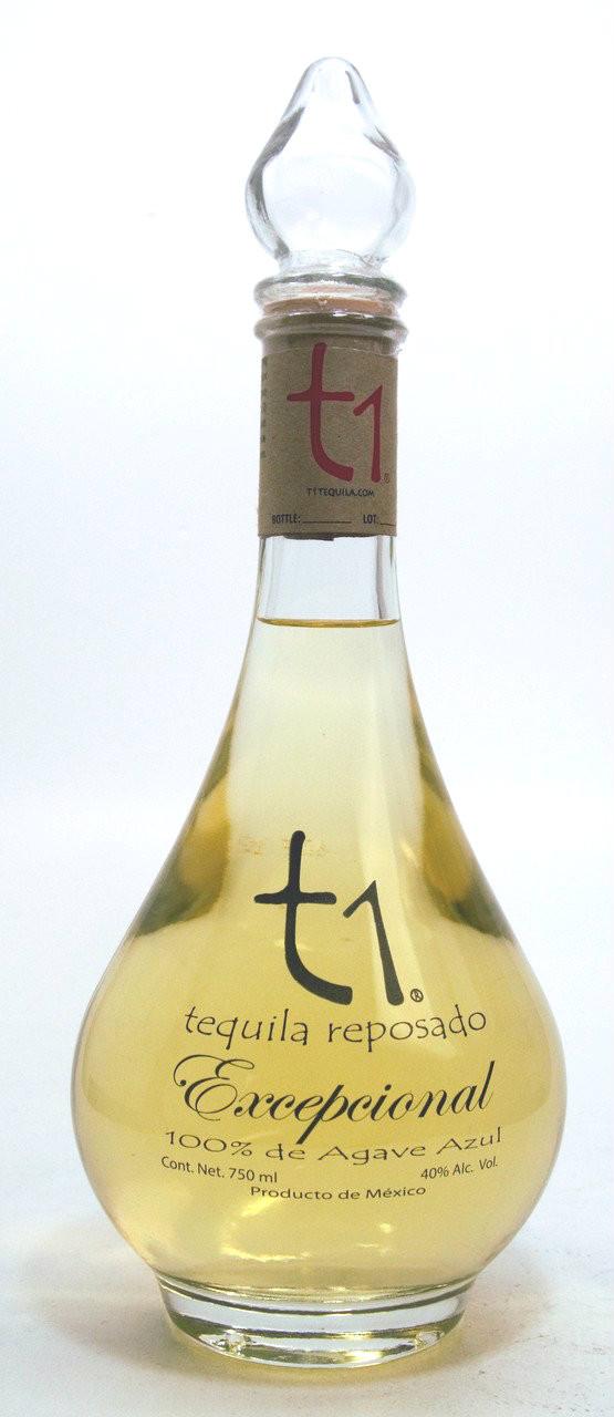 t1 Reposado Excepcional Tequila
