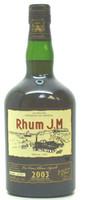 Rhum J.M Vieux Agricole Millesime 2003