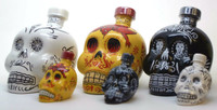 KAH Tequila Halloween Set (Three 750ml and Three 50 ml)