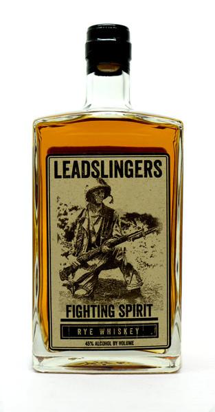 Leadslingers Fighting Spirit Rye Whiskey