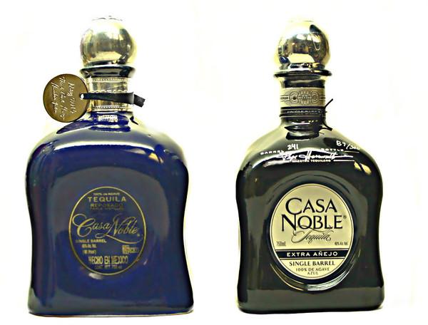 Casa Noble Single Barrel Extra Anejo and Reposado