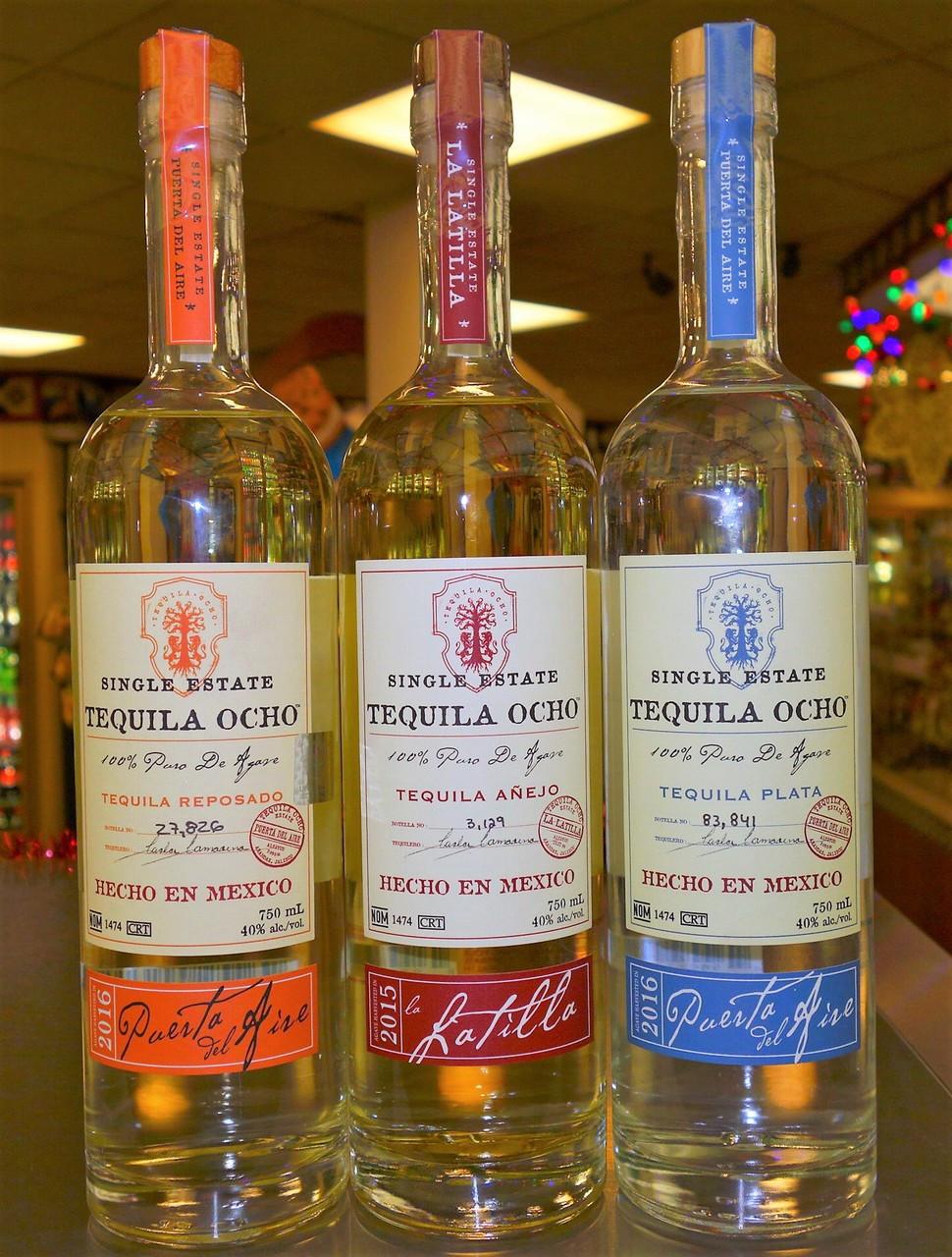 TEQUILA OCHO SET OF THREE