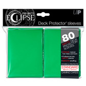 PRO-Matte Eclipse Green Standard Deck Protector (80ct)