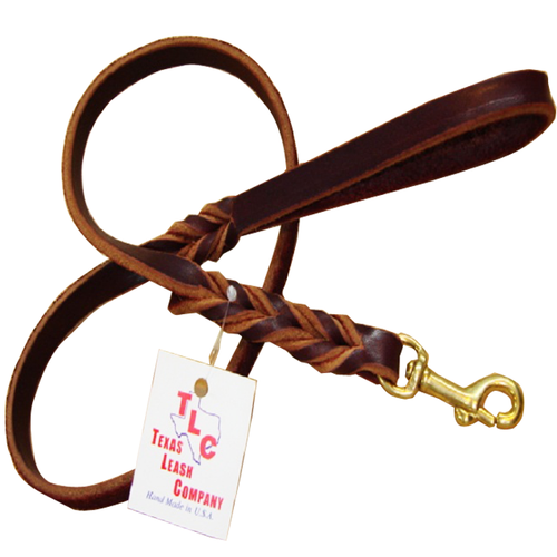 Original Braided Leather Leash - ¼""