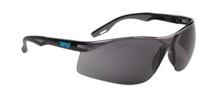 Topaz Safety Glasses- Smoke