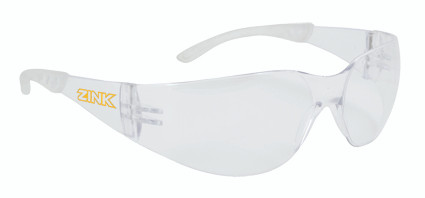 Zink Safety Glasses- Clear