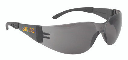 Zink Safety Glasses- Smoke