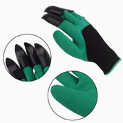 Garden Claw Glove with 4 ABS Plastic Finger Claws Garden Genie