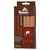Sandalwood Sticks - 2 Hour Mosquito Repellent Pack of 5