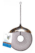 Bird Feeder - Seed and Nut Holder with Stainless Head