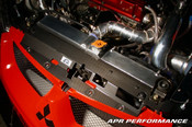 APR Carbon Fiber Radiator Cooling Shroud - Evo 8-9