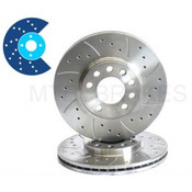 MTEC Front Brake Disc Focus ST 225