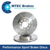 MTEC Front Brake Disc Focus RS MK2