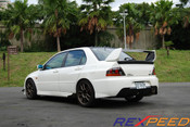 Rexpeed Carbon Trunk Spoiler Type 2 Evo 7-9