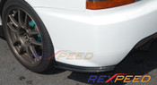 Rexpeed Damd Style Rear Bumper Extension Evo 9