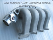 Plazmaman EVO 7-9 CT9A long runner Plenum Inlet manifold