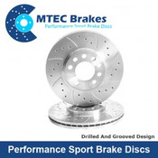 MTEC Front Brake Discs Fiesta ST180