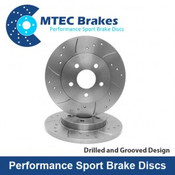 MTEC Rear Brake Discs Fiesta ST180
