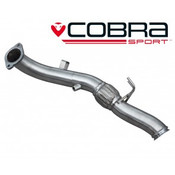 Cobra De-Cat Front Pipe Section - Focus RS MK3