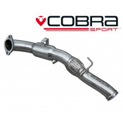 Cobra Sports Cat Front Pipe Section - Focus RS MK3