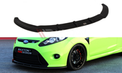 Maxton Designs FRONT SPLITTER FORD FIESTA MK7 (FOR RS LOOK BUMPER)