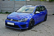SET OF SPLITTERS VW GOLF MK7 R ESTATE