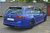REAR SIDE SPLITTERS VW GOLF MK7 R ESTATE