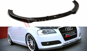 Maxton Designs FRONT SPLITTER AUDI A3 8P (FACELIFT MODEL)