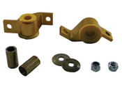 GC8 Front arm - lower inner rear bushing anti lift kit Comfort
