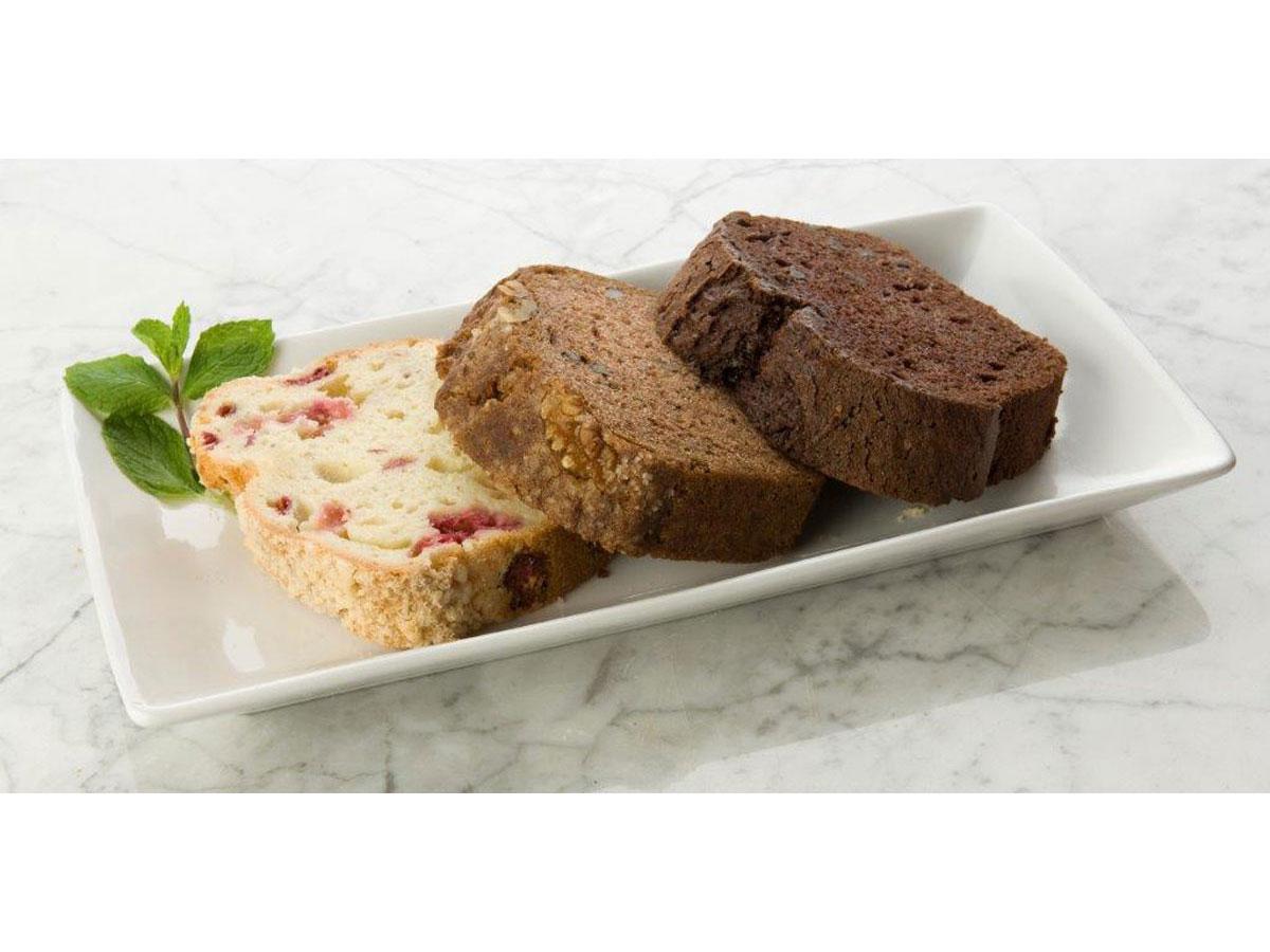 Moist, dense sweet breads with a twist!