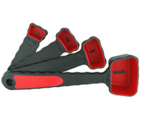 Küssi Silicone Measuring Spoons - Red (KT2113)