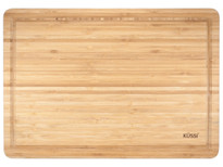 Kussi Bamboo Board With Juice Groove - 3 layer - 43cm x 30cm (59601)
