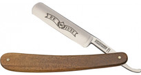 "Timor Straight Razor Carbon Steel 5/8"" Full Hollow Ground - Walnut (554 5/8 CS)"