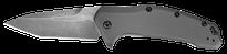 Kershaw Link Tanto Aluminum Blackwash - Gray (1776TGRYBW)