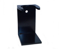 Ice Acrylic Shave Brush Stand - Black (STAND-B)