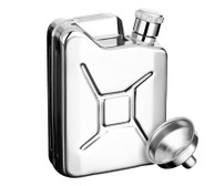 Savoir Flask - Polished - Jerry Can - 6oz (FPJC6Z)