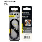Nite Ize S-Biner SlideLock #4 - Black (LSB4-01-R3)
