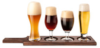 Final Touch Beer Tasting Set - 6pc (Dark Wood) (GBT1040)