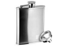 Savoir Flask - Checkered Mirror - 6oz (FMIR6Z)
