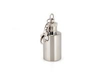 Savoir Mini Flask 1oz - Round (MFMIRR)