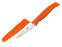 "Kussi Paring 3"" with Sheath - Orange (8000OR)"