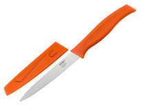 "Kussi Utility 4"" with Sheath - Orange (8500OR)"