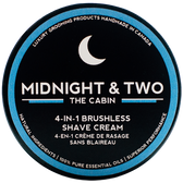 Midnight & Two Brushless Shave Cream - The Cabin (SCCBN)