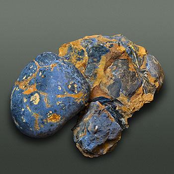 Vivianite mineral