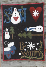 Snow Happy Wall Quilt
