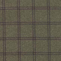 Woolies Flannel  - Deep Green Double Weave