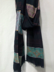 COTTON JACQUARD SCARF 21
