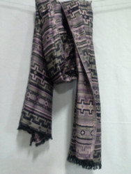 COTTON JACQUARD SCARF 22