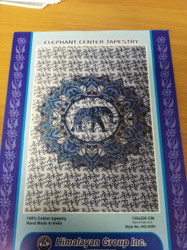 ELEPHANT CENTER TAPESTRY